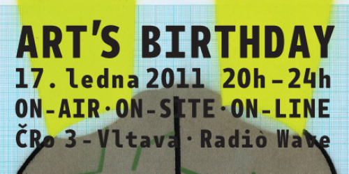 Czech Radio – Art's Birthday Party 2011