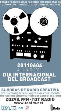 Convocatoria de TEA FM para el Dia Internacional del Broadcasting (4 junio 2011)
