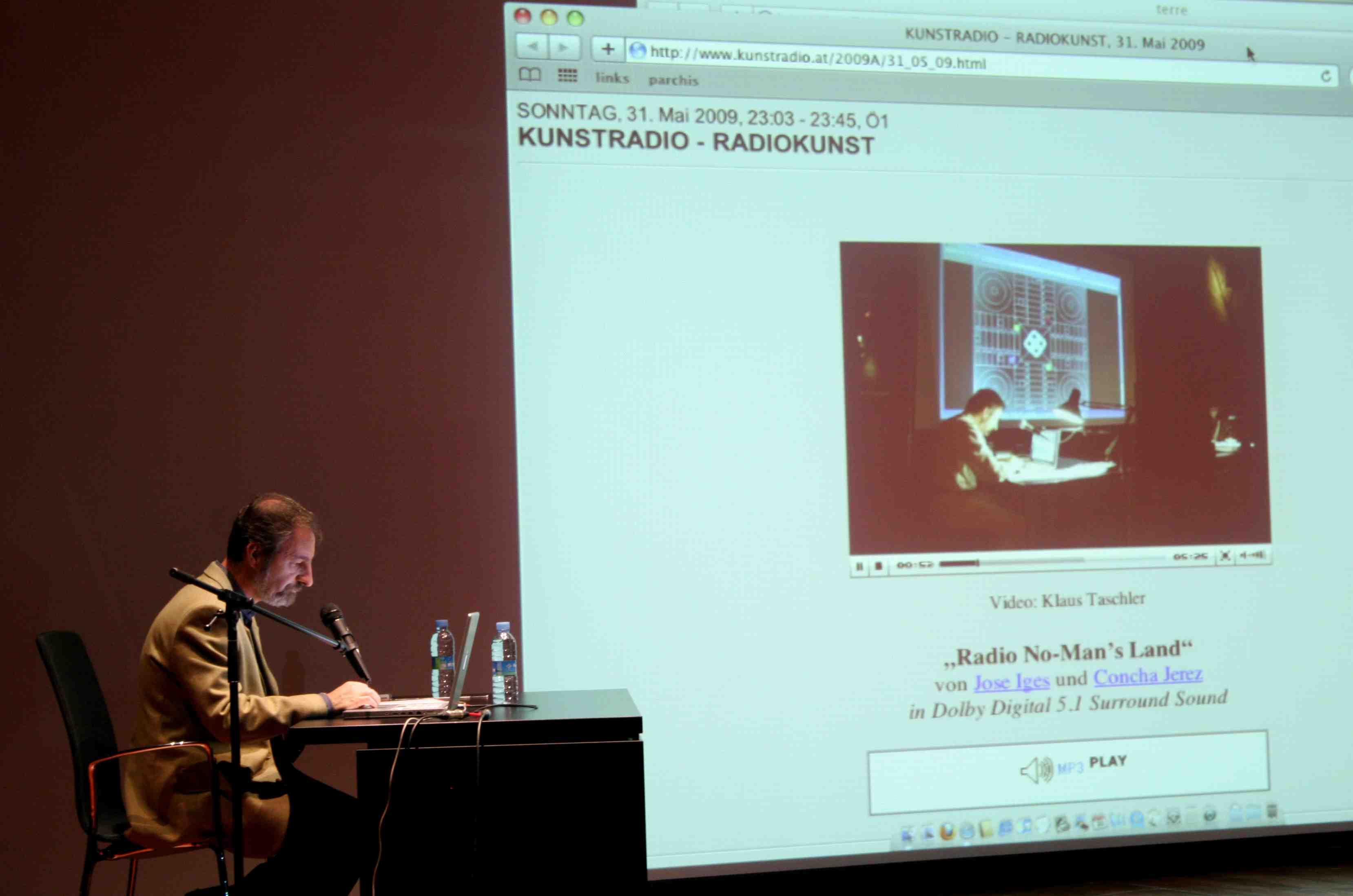 Concha Jerez + José Iges: Radio No-Man's Land