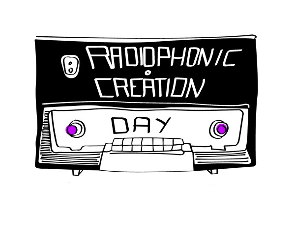Radiophonic Creation Day  4th of june 2011 from midnight to midnight
