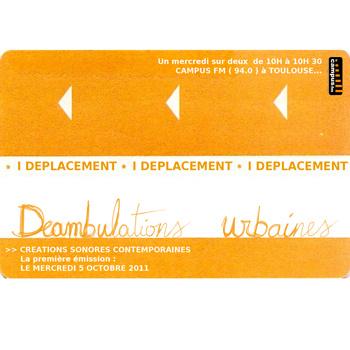 Deambulations urbaines – Emission 1 du 5 /10/2011: Le Métro