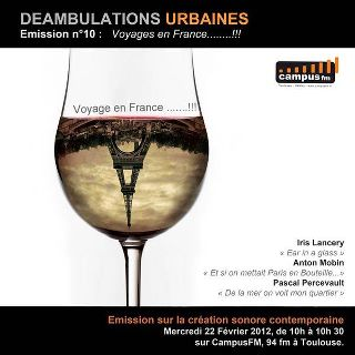 Déambulations Urbaines: Voyage en France !