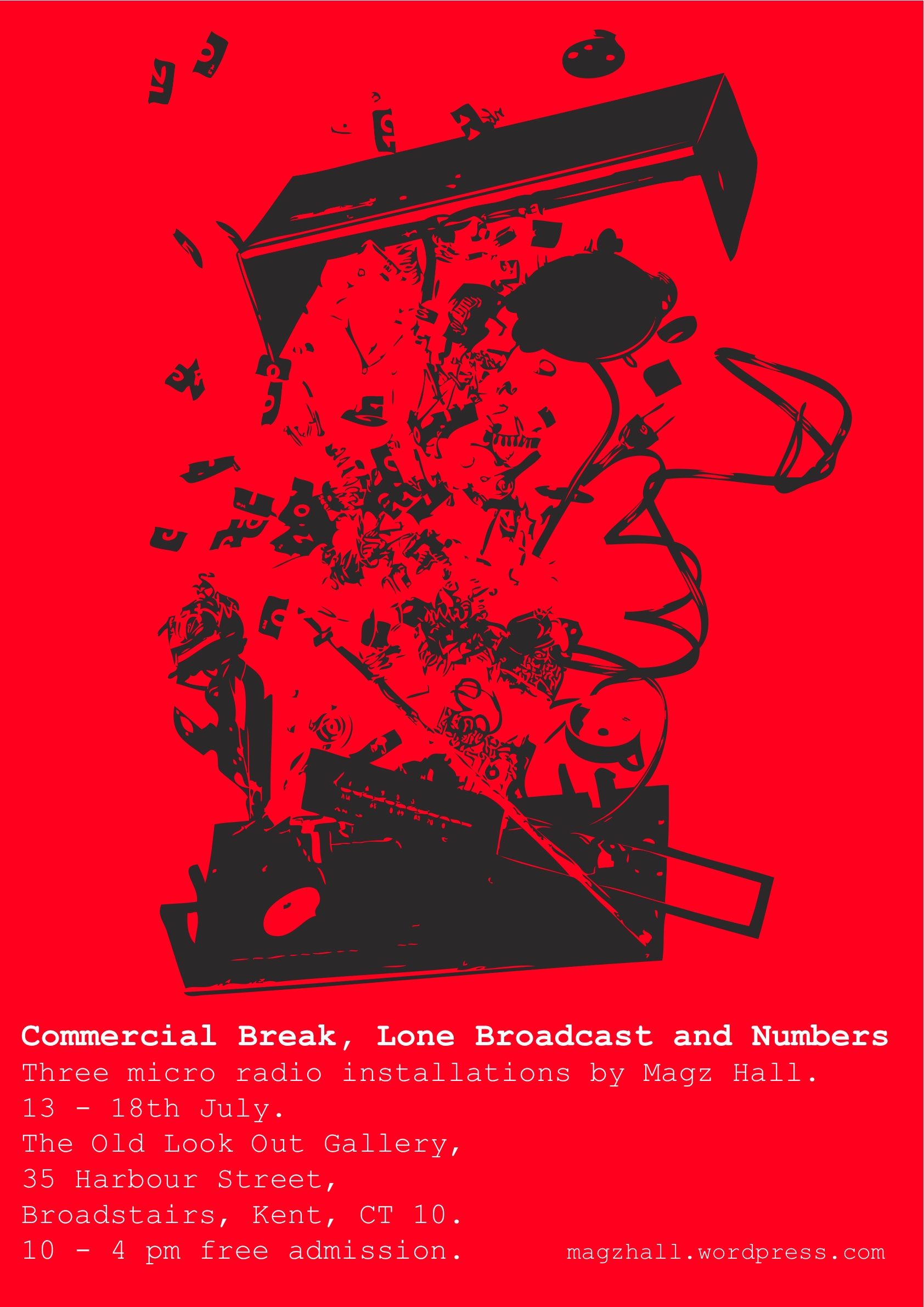 Magz Hall: Commercial Break, Lone Broadcast and Numbers Stations