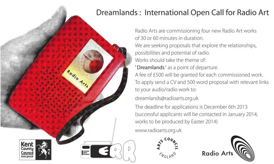 Dreamlands: International Open Call for Radio Art